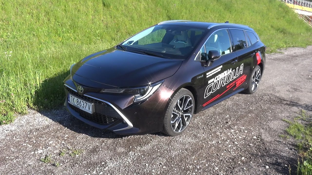 2020 Toyota Corolla TS Kombi 2.0 Hybrid Dynamic Force 180 KM Prezentacja / Walkaround/In depth tour