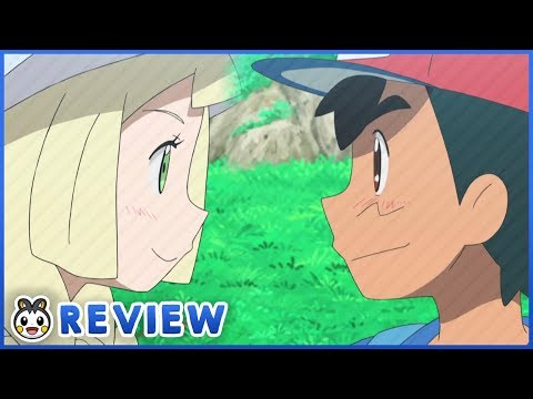 Cute Ash x Lillie Moment! Ash and Rotom Fall Out?! | Pokemon Sun and Moon Episode 98 Review