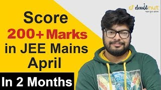 JEE MAIN 3 months study plan
