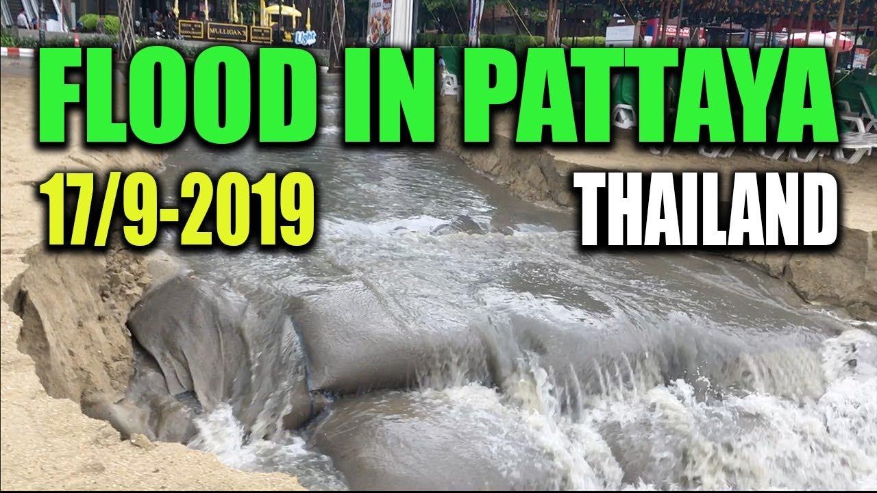 Floods in Pattaya 17. september 2019 - Jan travel Thailand