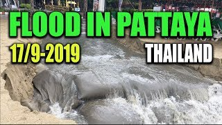 Floods in Pattaya 17. september 2019 - Jan travel Thailand