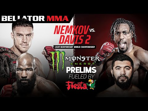 Bellator 257: Nemkov vs. Davis II | Monster Energy Prelims fueled by Fiesta Mart