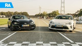 Mazda MX-5 RF ou Toyota GT86. Qual preferes?