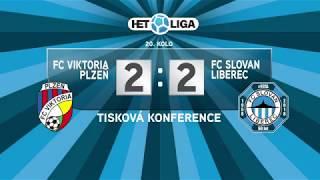 Tisková konference po utkání FC Viktoria Plzeň - FC Slovan Liberec