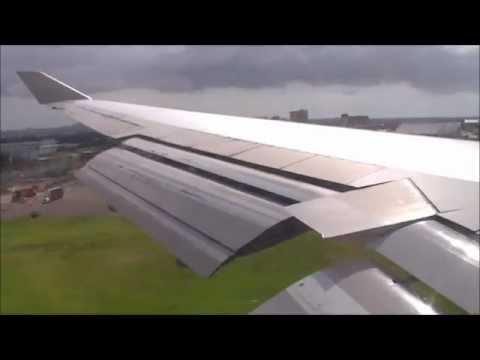 Qantas B747 400ER Flight QF8 Landing in Sydney VH-OEF