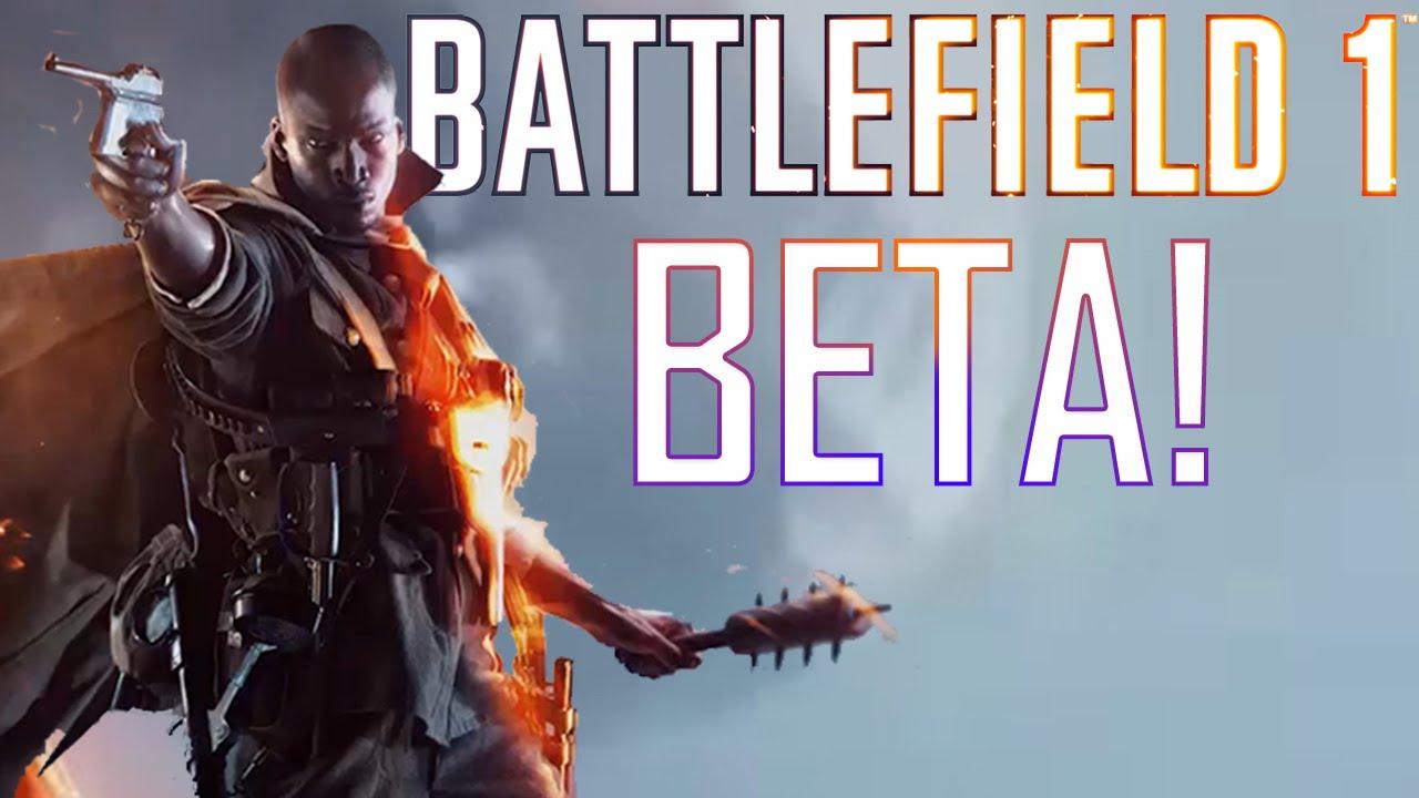 Open Beta Battlefield 1