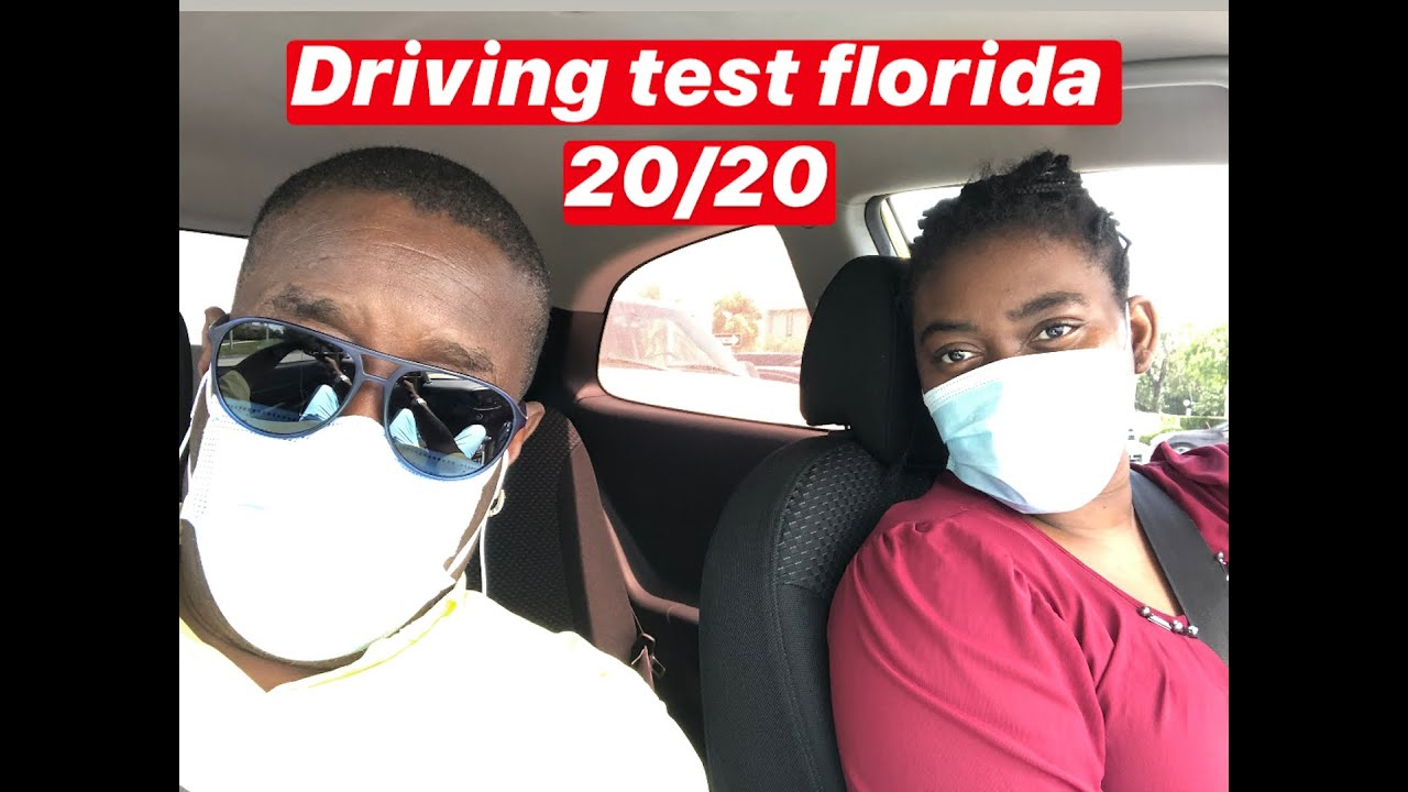 DRIVING test FLORIDA 20/20