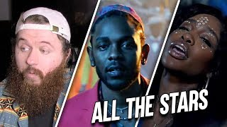 Kendrick Lamar, SZA - All The Stars - REACTION! VISUAL MASTERPIECE!