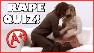 RAPE QUIZ - Not anymore!