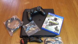 PS4 SLIM - COD Infinite Warfare Early Access Bundle - Unboxing(Buy Yours Today: ..., 2016-10-20T11:48:43.000Z)