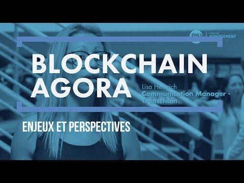 Blockchain Agora 2017 : perspectives et usages