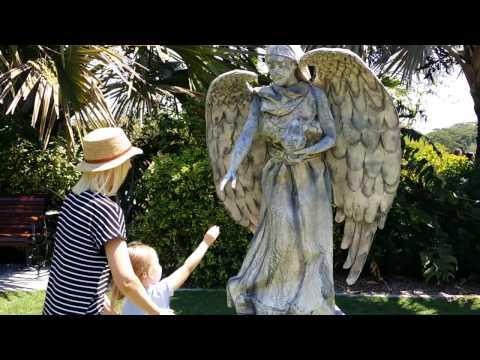 Angel statue daylight