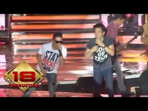 NOAH Feat Richi Five Minutes - Khayalan Tingkat Tinggi   (Live Konser Bekasi 20 Januari 2013)