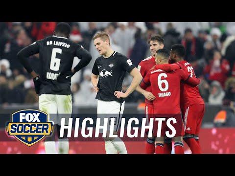 Bayern Munich vs. RB Leipzig | 2018-19 Bundesliga Highlights Mp3