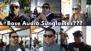Bose Audio Sunglasses???