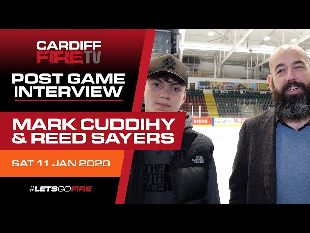 Postgame with Mark Cuddihy 11-01-20 v Oxford Stars