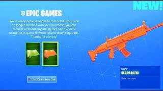 *FREE* STAY SMOOTH + RED PLASTIC..! (NEW! REWARDS) Fortnite Battle Royale