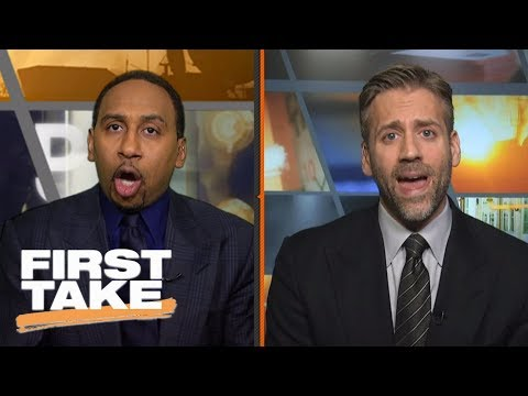 Stephen A. and Max get into heated debate over Philadelphia 76ers | First Take | ESPN