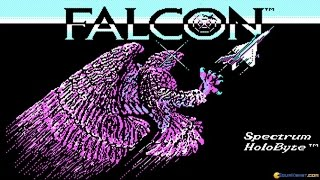 Falcon gameplay (PC Game, 1987)