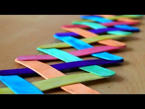 Arts And Craft Projects With Popsicle Sticks
