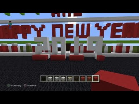 Minecraft Christmas 2019 Merry Christmas and Happy New Year 2019 Minecraft Christmas Tree