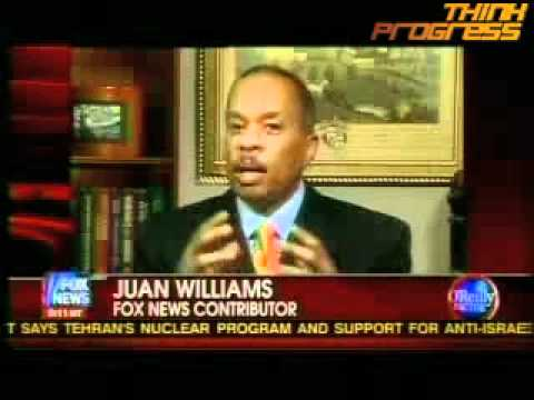 "Juan Williams gets ""nervous"" around Muslims on airplanes"