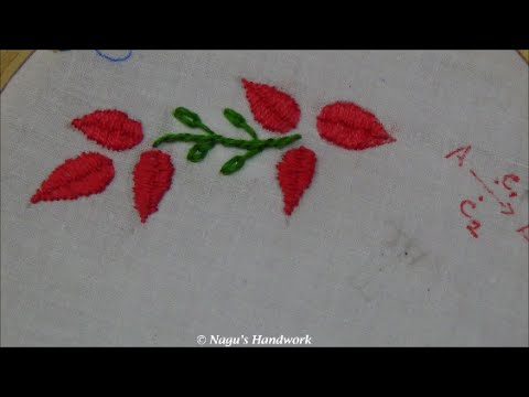 Romanian Stitch Roumanian Stitch Hand Embroidery Tutorials By Nagus