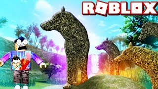 ROBLOX WOLVZIA (Wolf Games Let's Play)