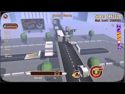 Turbo Dismount Bridge Jump