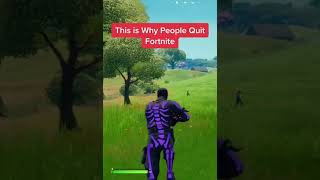 This is why people wuit fortnite and hate the game 😑 #shorts #fortnite #fortnitememes