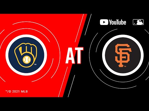 Brewers at Giants   MLB Game of the Week Live on YouTube