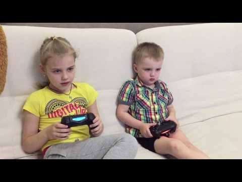 Играем На Sony PlayStation Детские Игры.Play Sony PlayStation Kids Games