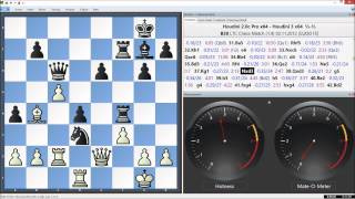 Houdini 2.0c Pro x64 Vs. Houdini 3 x64, LTC Chess Match Game 4