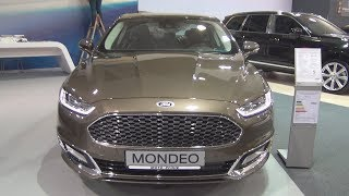 Ford Mondeo Vignale 2.0 TDCi 180 hp A6 (2018) Exterior and Interior