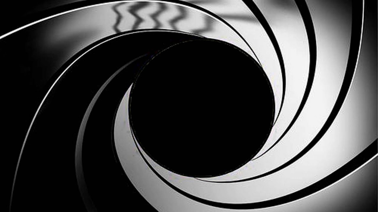 james bond 007  blank  gunbarrel test