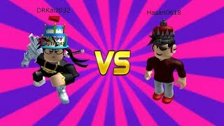 Roblox Assassin 1v1 Serie Ep.6 DRKai2032 Vs Hasan0618 *INTENSE*