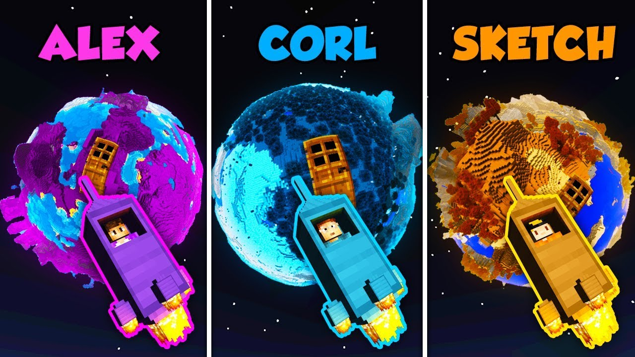 alex-vs-corl-vs-sketch-planet-house-in-minecraft-the-pals