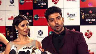 Gurmeet Choudhary and Debina Bonnerjee | Red Carpet | Zee Cine Awards 2018
