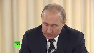 Владимир Путин и Ким Чен Ын проводят переговоры