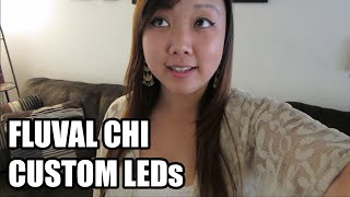 Diy: How To Install Custom Led Lights On Fluval Chi Aquarium