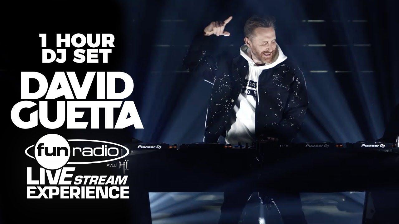 Download David Guetta live @ Fun Radio Live Stream Experience