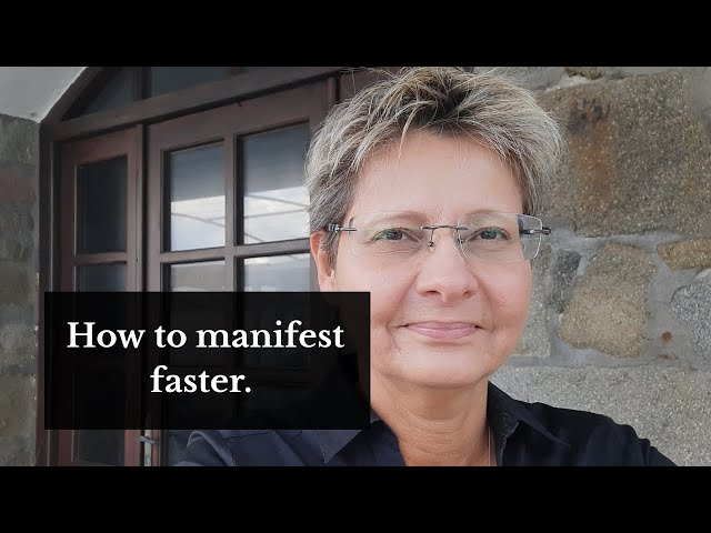 How to manifest faster. Try this!