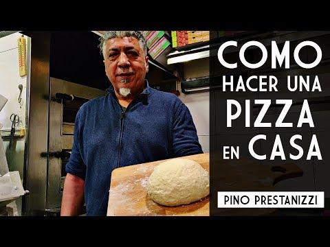 ¿Cómo hacer una PIZZA en casa? | Pino Prestanizzi