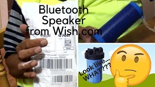 BLUETOOTH SPEAKER from WISH - Unboxing and Review