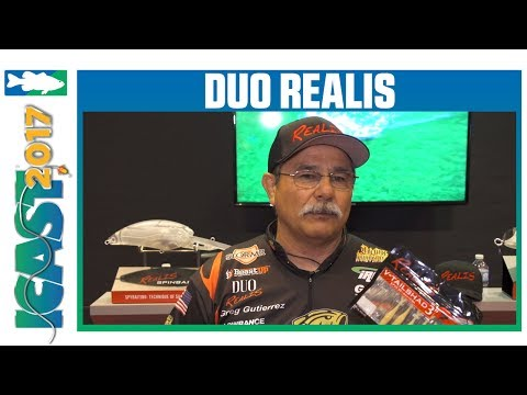 DUO Realis V-Tail Shad With Greg Gutierrez | ICAST 2017