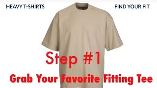 Heavy T-Shirts | Find Your Fit
