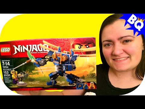 LEGO Ninjago ElectroMech 70754 Build & Review