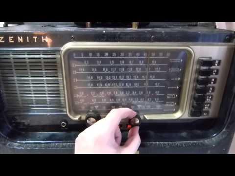 Zenith B600 Transoceanic tube radio (Made in USA circa 1962)