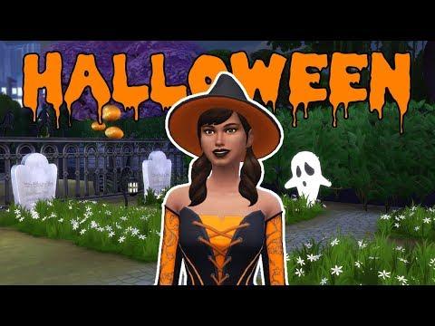 FESTA DE HALLOWEEN 🎃 | The Sims 4 | Dimissauro