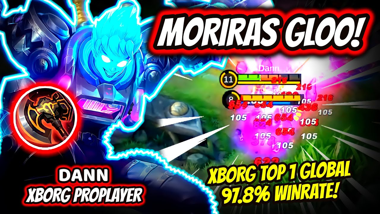 Download ¡DESTROZA A GLOO CON SU DAÑO VERDADERO! X.BORG TOP 1 GLOBAL 97.8% WINRATE! | MOBILE LEGENDS